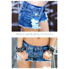 Короткие джинсовые шорты