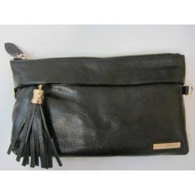 Кожаная сумка клатч Oriana